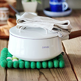 Dansk Kobenstyle 雙耳 琺瑯燉煮鍋 琺瑯鍋