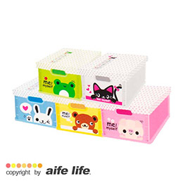 超可愛B5尺寸!可愛卡通動物折疊收納盒
