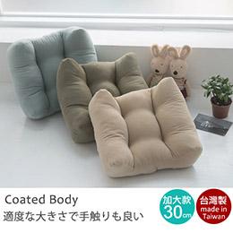 30X30厚實加大靠腰枕