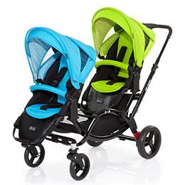 德國【ABC Design】ZOOM 嬰兒雙人推車