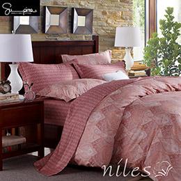 Niles超級皮馬棉400織紗5尺標準雙人床包