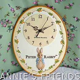 彼得兔 Peter Rabbit 梨子壁鐘