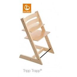 Stokke Tripp Trapp 成長椅-原木