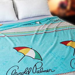 雨傘牌 法蘭絨舒眠保暖毛毯