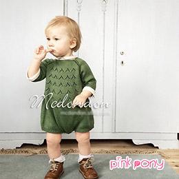 冬款小鹿毛衣針織兒童外套/童裝