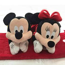 美國ZOOBIES X DISNEY 迪士尼多功能玩偶毯
