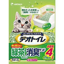 日本嬌聯 - 消臭抗菌綠茶貓砂4L