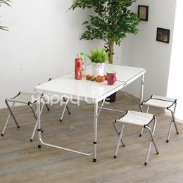 休閒椅可調整摺疊桌