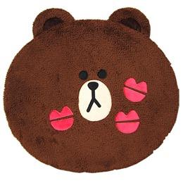 熊大親親 頭型絨毛地墊