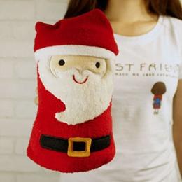 耶誕節限定 聖誕老公公造型毯
