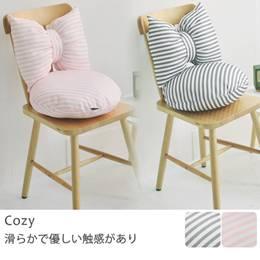 韓系蝴蝶結+圓形坐墊