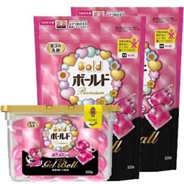 P&G洗衣膠球1盒+2補充包