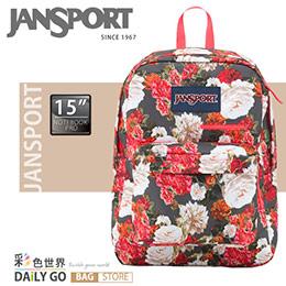 JANSPORT 後背包-古典玫瑰