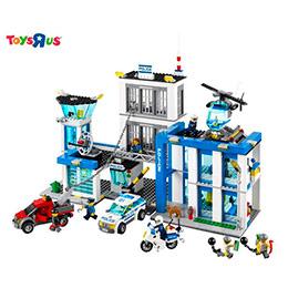 樂高Lego積木 警察局 城市系列 現賺850點