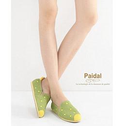 甜心水果小電繡帆布樂福鞋