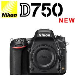 Nikon D750 單機身 全片幅 單眼相機 國祥公司貨