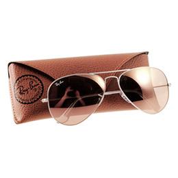 Ray Ban 雷朋 銀邊粉 RB3025 太陽眼鏡 水銀鍍膜