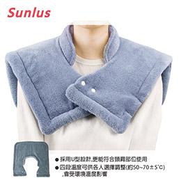 Sunlus三樂事-暖暖頸肩熱敷柔毛墊 SP-1003