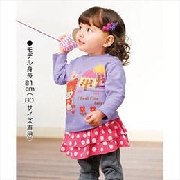 日本空運童裝3件組-可愛印花純棉T恤
