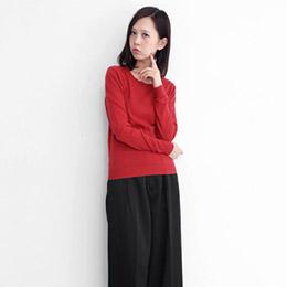 KBF日本進口棉質圓領針織衫