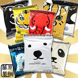 藤原製麵 超萌人氣動物園主題系列拉麵 綜合口味8包組
