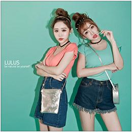 LULUS【自訂款】羅紋合身T恤