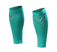 SHAPER MAN-耐力機能壓縮小腿套(湖水綠)