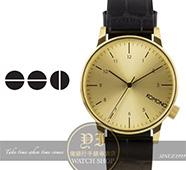 KOMONO比利時品牌鱷魚紋腕錶