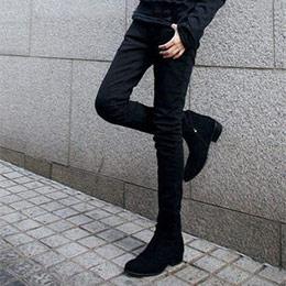 修身窄管skinny牛仔褲