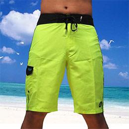 REEF 亮黃海灘衝浪褲