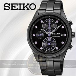 SEIKO日本精工名媛晶鑽計時腕錶