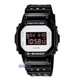 G-SHOCKxBE@RBRICK 黑白簡約酷炫聯名款腕錶