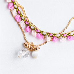 日本Kaza 南法普羅旺絲海岸風情優雅項鍊