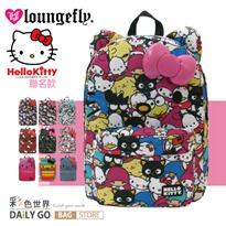 Hello Kitty 艾薇兒聯名款後背包