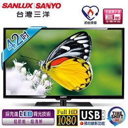SANYO台灣三洋 42吋 FHD LED液晶