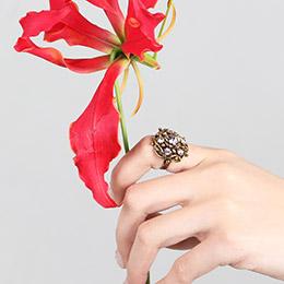 康乃馨戒指