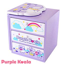 Purple Koala 療癒系書架收納盒