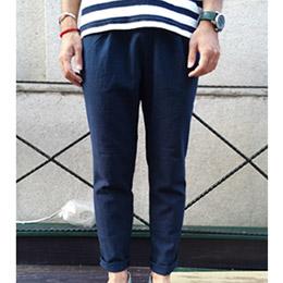 棉麻度假風長褲