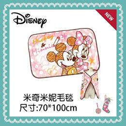 日本 Disney 迪士尼系列溫暖毛毯