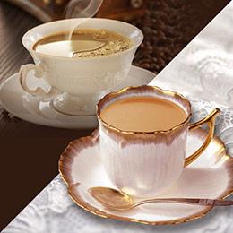 摩根拉茶&二合一白咖啡組 共27包