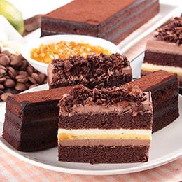 2入♥太妃糖雙層起士+香柚巧克力三重奏