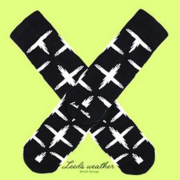 城市漫遊純棉紳士襪-City Cross