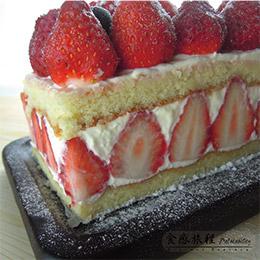 【草莓季】雪藏草莓乳酪蛋糕