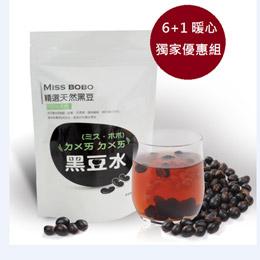 非基因改造纖烘焙青仁黑豆水-6+1入(10g*70包)
