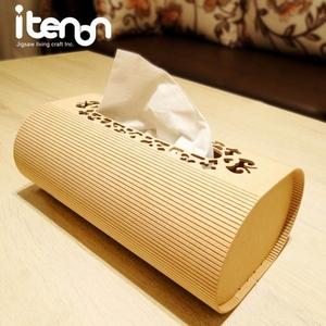橢圓頂雕面紙盒