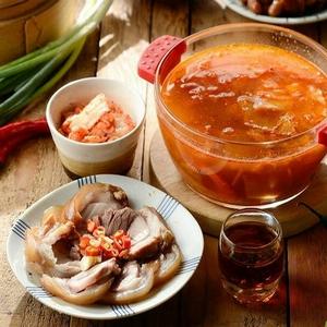 韓式泡菜豬腳火鍋原汁