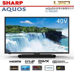SHARP夏普AQUOC超薄液晶電視-HD系列-40型LC-40LE265T