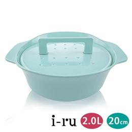 日本南部鐵器i-ru琺瑯鑄鐵鍋20cm
