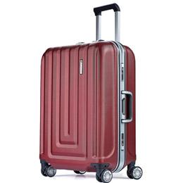 商務質感PC硬殼鋁框行李箱系列
