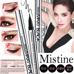 Mistine眼線液- MAXI Black 魅力四射全效眼線液筆 (黑色) 1g